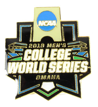 2019 College World Series Logo Pin