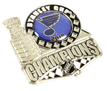 St. Louis Blues 2019 NHL Stanley Cup Champs Pin