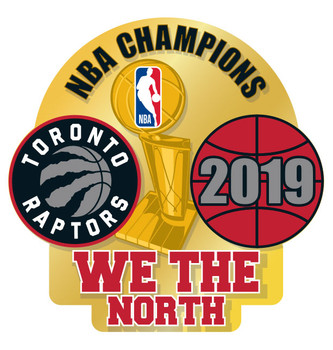 Toronto Raptors 2019 NBA First Time Champs Pin