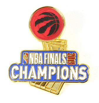 Toronto Raptors 2019 NBA Champs Trophy Pin