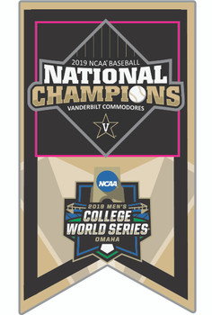 Vanderbilt 2019 College World Series Champs Pin