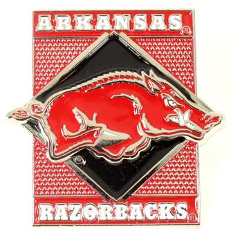 Arkansas Razorback Diamond Pin