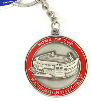 Washington Nationals Ultimate Two-Sided Key Chain