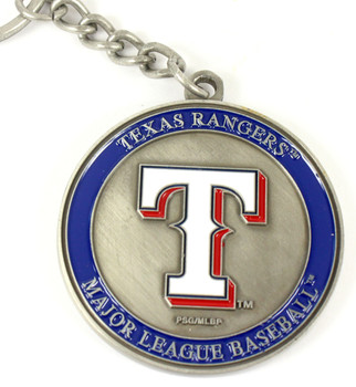 Texas Rangers Ultimate Two-Sided Key Chain