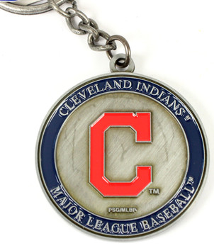 Cleveland Indians Ultimate Two-Sided Key Chain
