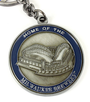 Milwaulkee Brewers Ultimate Two-Sided Key Chain