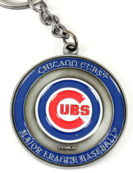 Chicago Cubs Ultimate Two-Sided Key Chain