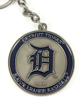 Detroit Tigers Ultimate Two-Sided Key Chain