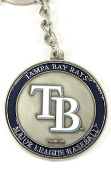 Tampa Bay Rays Ultimate Two-Sided Key Chain