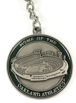Oakland A's Ultimate Two-Sided Key Chain