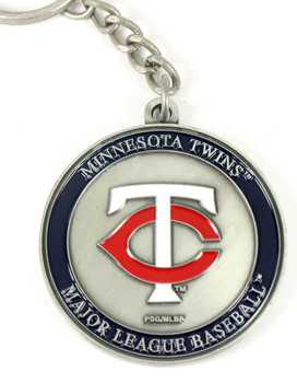 Minnesota Twins Ultimate Two-Sided Key Chain
