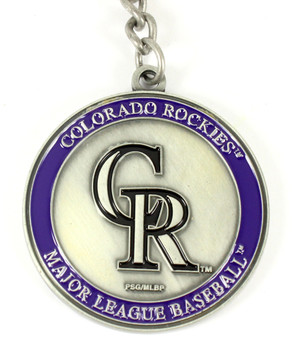Colorado Rockies Ultimate Two-Sided Key Chain