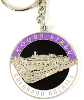 Colorado Rockies Ultimate Two-Sided Key Chain.