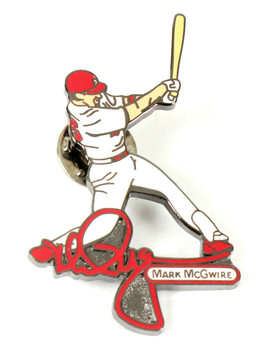 Mark McGwire Action Signature Pin