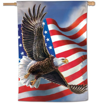 "American Eagle Vertical Flag - 28"" x 40"""