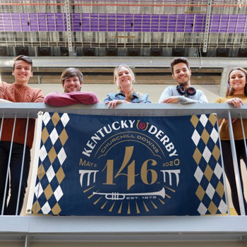 2020 Kentucky Derby 146th Banner Flag - 3' x 5'