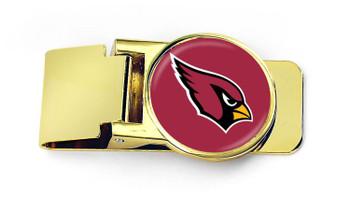 Arizona Cardinals Brass Money Clip