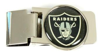 Oakland Raiders Money Clip