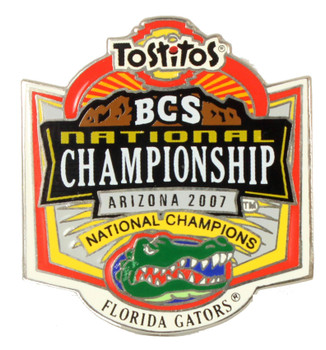 Florida Gators 2007 National Champs Pin