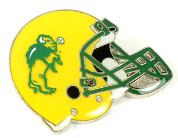 Marshall Football Helmet Pin