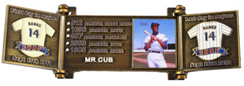 Ernie Banks Hall of Fame Career Pin - Limited Edition 1,977
