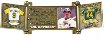 Reggie Jackson Hall of Fame Career Pin - Limited Edition 1,993