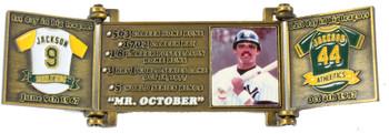 Reggie Jackson Hall of Fame Career Pin - Limited Edition 1,993