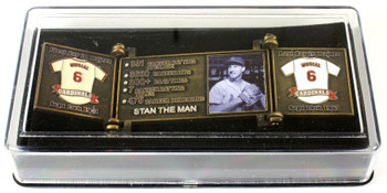 Stan Musial Hall of Fame Career Pin - Limited Edition 1,969