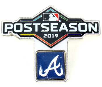 Atlanta Braves 2019 Post Season Pin