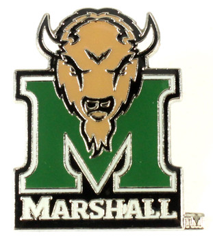 Marshall Thundering Herd Logo Pin