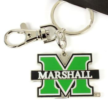 Marshall Thundering Herd Key Chain