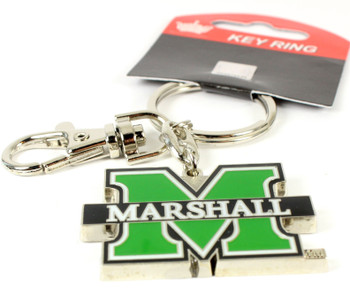 Marshall Thundering Herd Key Chain