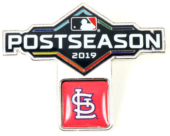 St. Louis Cardinals 2019 Post Season Pin