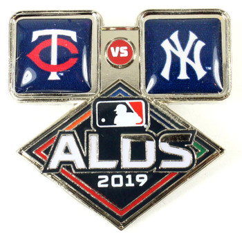 2019 ALDS Dueling Pin - Yankees vs. Twins