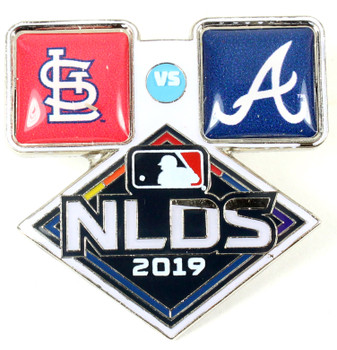 2019 NLDS Dueling Pin - Braves vs. Cardinals