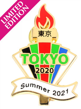 2020 / 2021 Tokyo Olympics Official Torch Pin - Limited 500