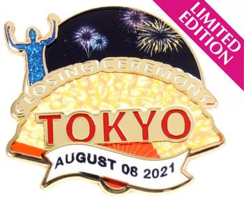 2020 / 2021 Tokyo Olympics Closing Ceremony Pin - Limited 500