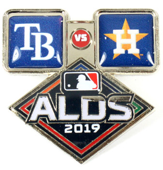 2019 ALDS Dueling Pin - Astros vs. Rays