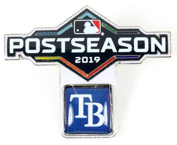 Tampa Bay Rays 2019 Post Season Pin