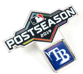 Tampa Bay Rays 2019 Post Season Pin
