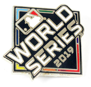 2019 World Series Logo Pin