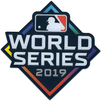 2019 World Series Embosstech PATCH - 4""