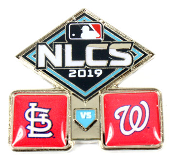 2019 NLCS Dueling Pin - Cardinals vs. Nationals