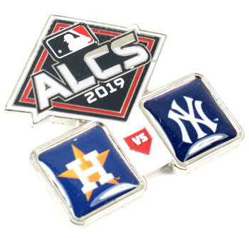 2019 ALCS Dueling Pin - Astros vs. Yankees