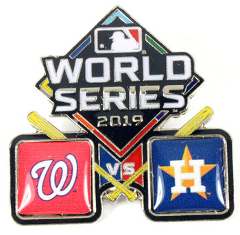 2019 World Series Dueling Pin - Nationals vs. Astros
