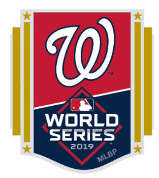 Washington Nationals 2019 World Series Participant Pin