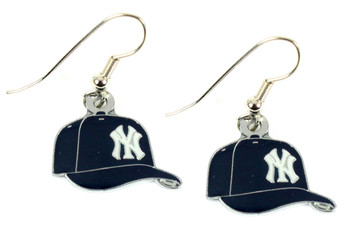 New York Yankees Cap Earrings