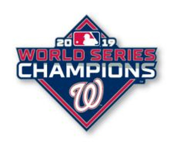 Washington Nationals 2019 World Series Champions Pin