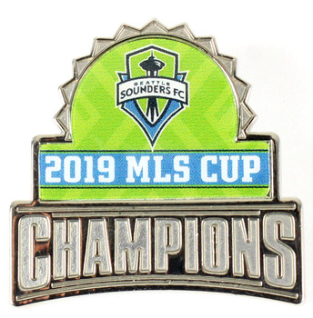Seattle Sounders FC 2019 MLS Champions Pin