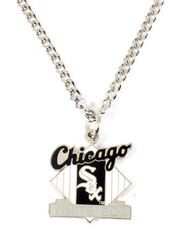 Chicago White Sox Vintage  Logo Necklace